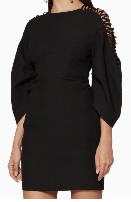 Acler Brooks Dress - Black