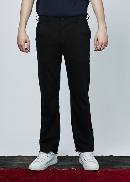 Hannes Roether Trust Wool Pant - black
