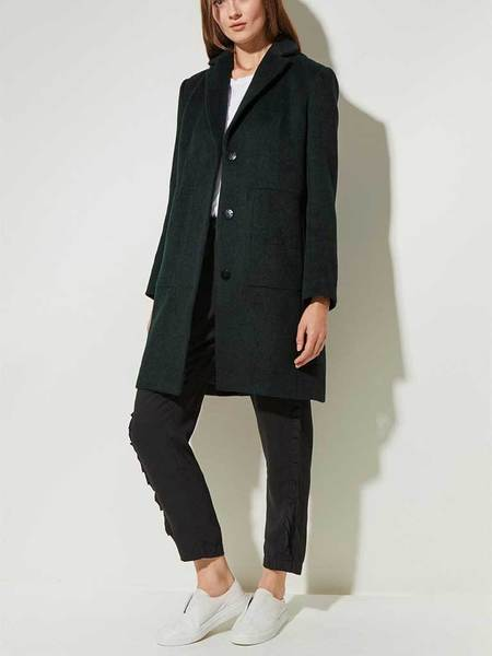 Great Plains Essential Coat - Winter Green