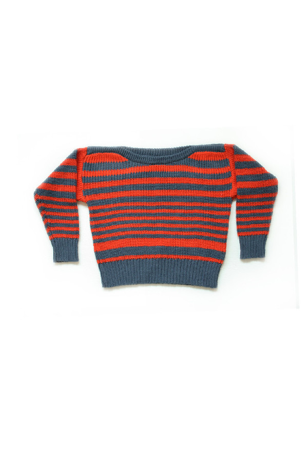 Kid's Micaela Greg Striped Pullover