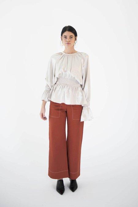 OhSevenDays Thursday Seam Trousers - Auburn