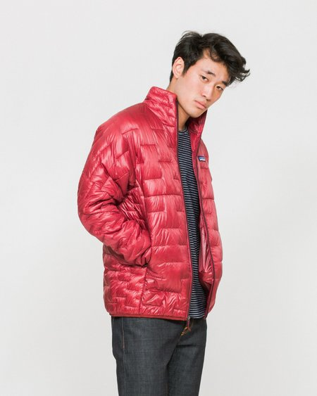 Patagonia Micro Puff Jacket - Oxide Red