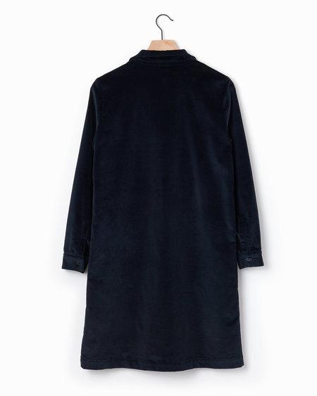 Anne Willi Brice Corduroy Shirtdress - Navy