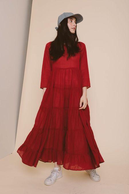 Ajaie Alaie She's A Soloist Dress - Red