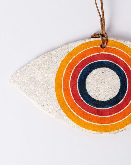 MQuan Studio Rainbow Rings Large Eye Ornament
