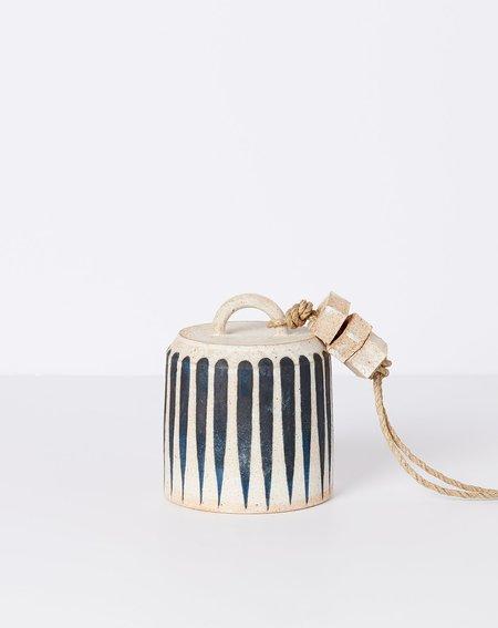 MQuan Studio Small Wide Bell - Indigo Stripe
