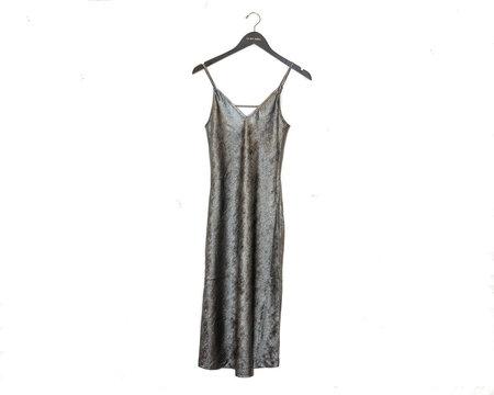 Brochu Walker The Julep Slip Dress - Orbit Metallic