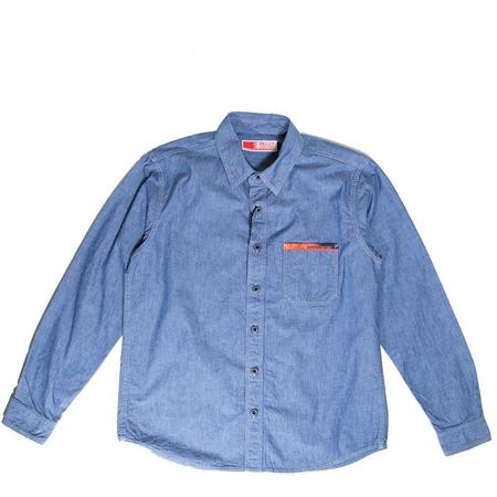 Pallet Life Story DW Shirt - Indigo Chambray