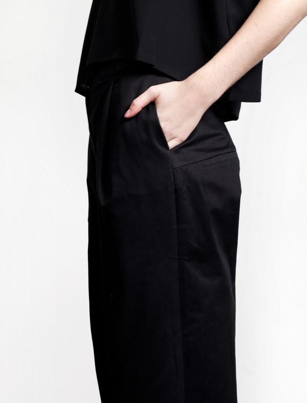Etienne Deroeux Base Trousers Black