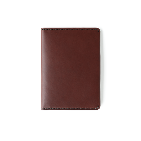MAKR Passport Wallet - Oxblood