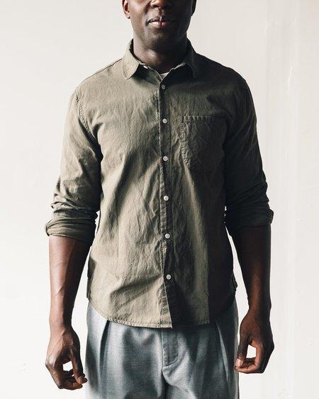dc34cf03c23 ... Unisex Olderbrother Classic Fit Shirt - Mushroom Moss