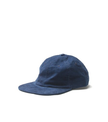 Freemans Sporting Club 6-PANEL CAP - INDIGO CORD