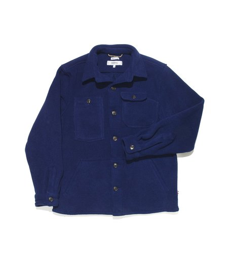 Freemans Sporting Club Camp Polartec Shirt - Navy