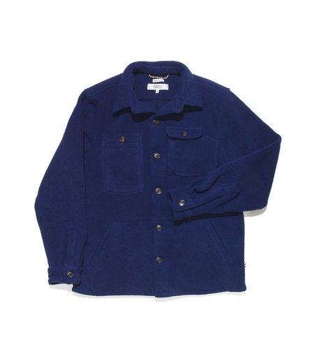 Freemans Sporting Club Camp Polartec Shirt - Navy