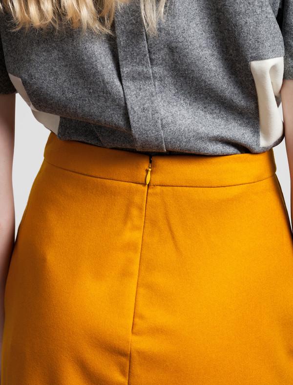 Etienne Deroeux Victoire Long Skirt Orange