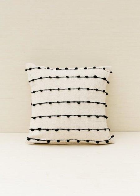 Territory Loops Pillow - Black
