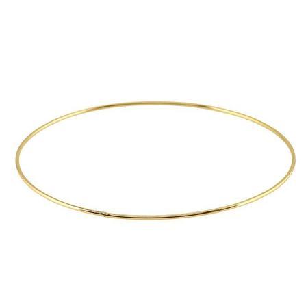 Meus Stacking Slice Bangles - Gold