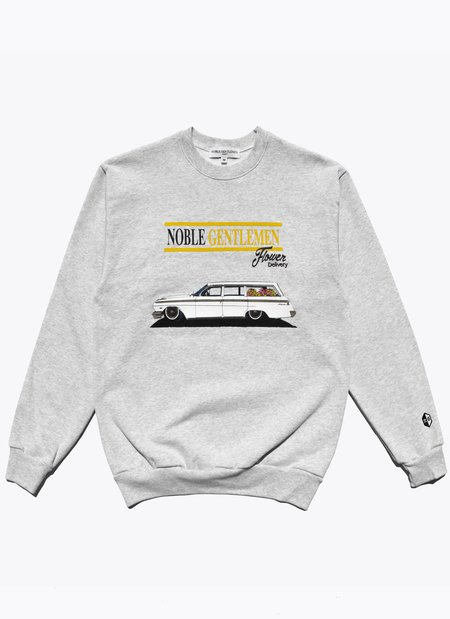 Noble Gentlemen Make Mom Proud Crew - Grey