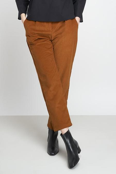 Jungle Folk Macondo Organic Cotton Corduroy Trousers - Cinnamon