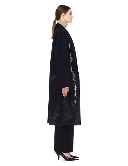 Haider Ackermann Embroidered Wool Coat