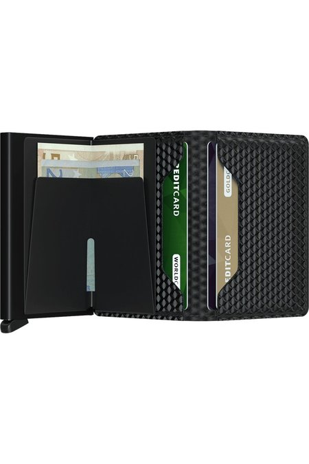 SECRID Slim Wallet - Cubic Black