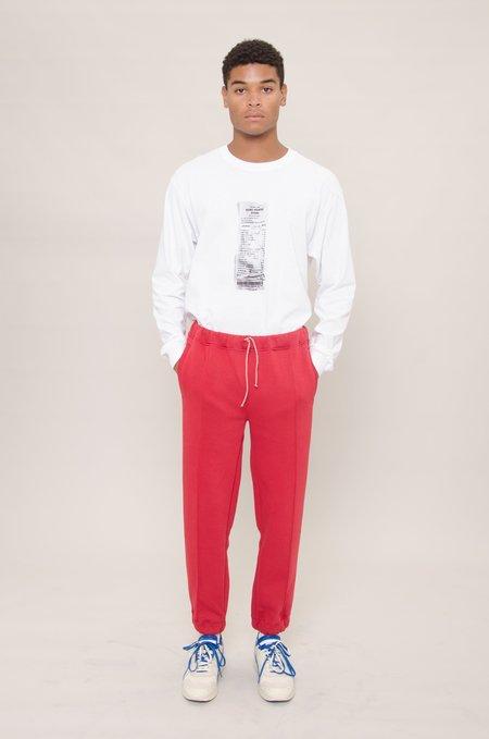 North Hill Fleece Jogger Pants - Red
