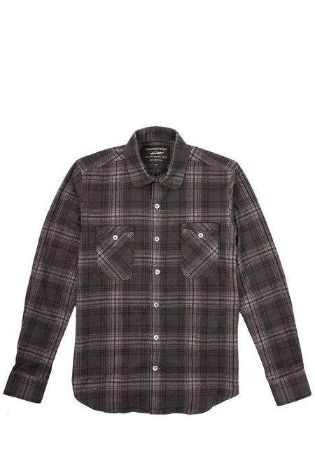 18 Waits Woodsman Shirt - Charcoal Plaid