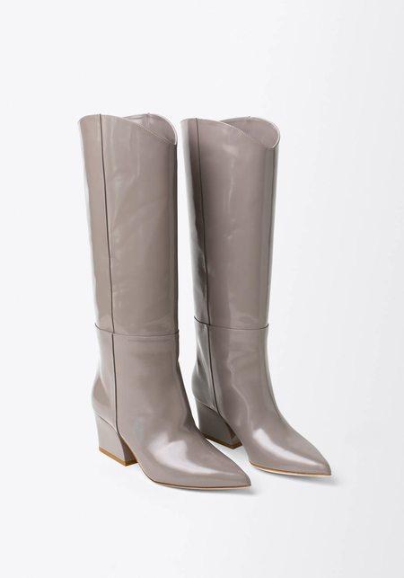 Tibi Logan Polished Calf Boots