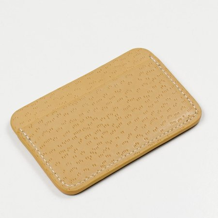 Laperruque Cardholder - Natural Peccary