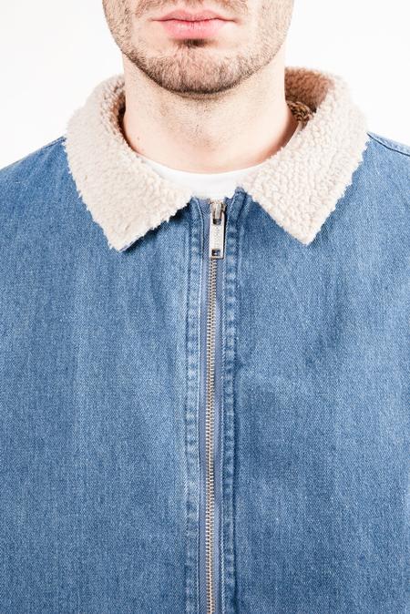 Wemoto Garland Denim Jacket - Blue
