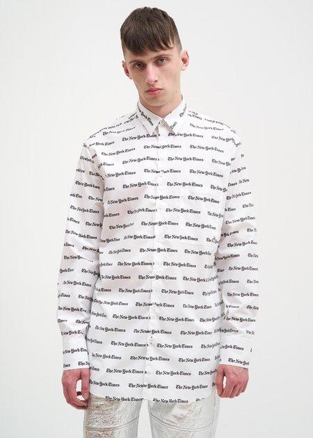 Études Away New York Times Shirt - White