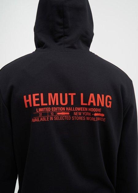 Helmut Lang Halloween Printed Hoodie - Black