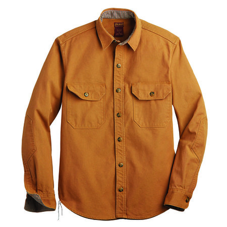 Dickie's 1922 Cotton Duck Shirt - Brown