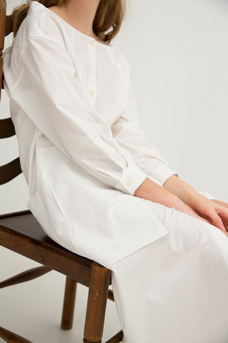 Sherie Muijs No. 26 Shirtdress - Vintage White