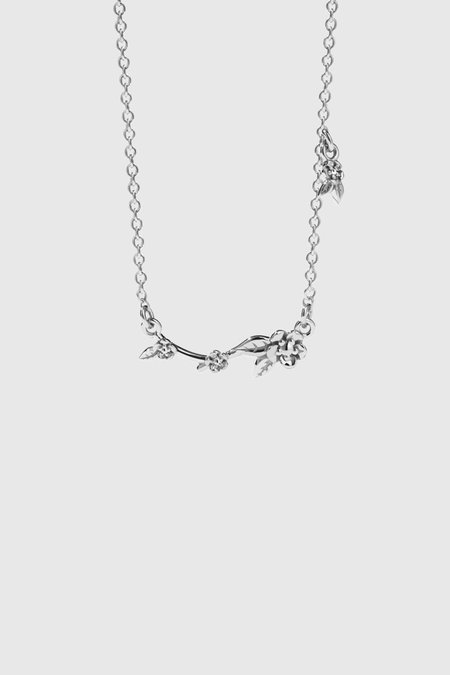 Meadowlark Alba Vine Necklace - Sterling Silver