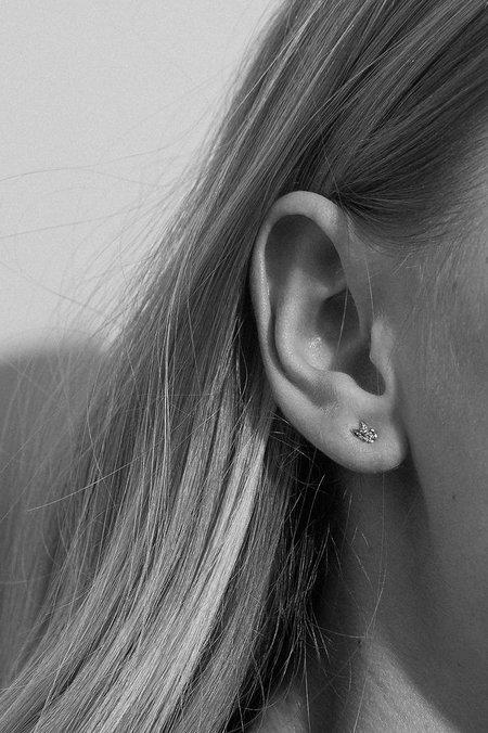 Meadowlark Micro Alba Stud Earrings - Sterling Silver