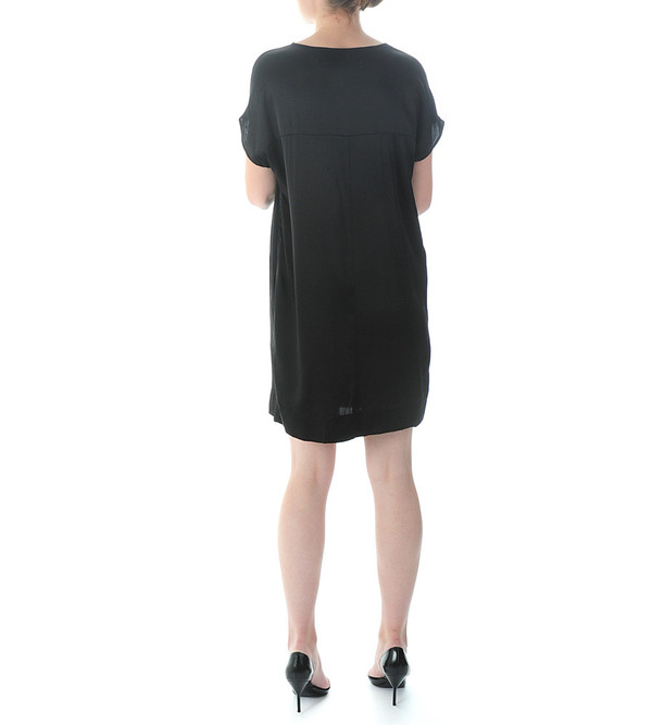 Raquel Allegra Silk Boxy Dress