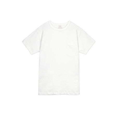 3Sixteen Heavyweight Pocket Tee White