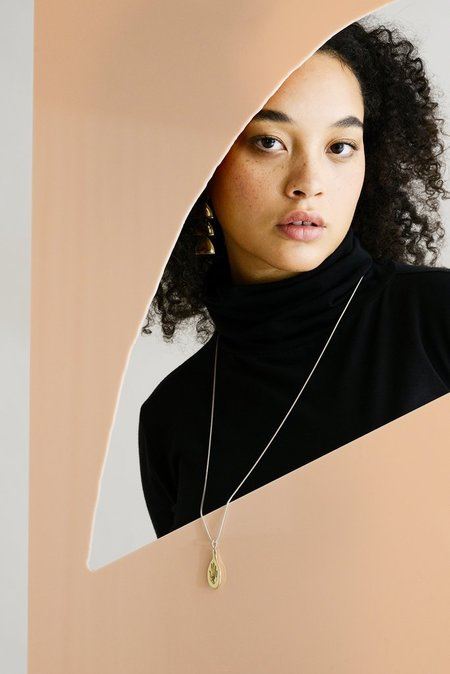 Seaworthy PALMATA Necklace - Brass