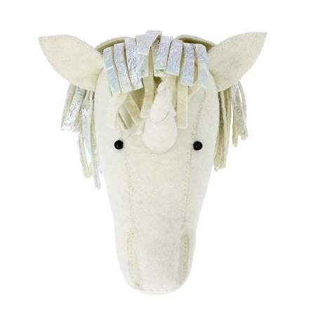 Kids Fiona Walker England Unicorn Silver Headdress