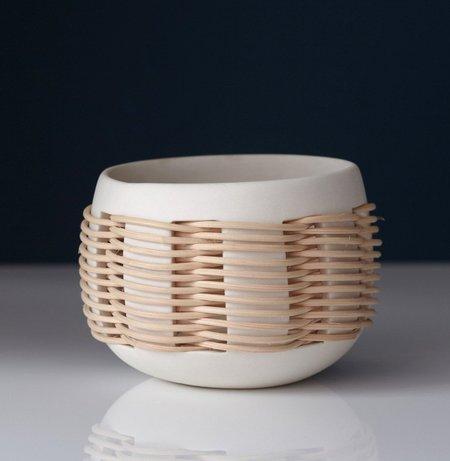 Pigeon Toe Ceramics WOVEN LANTERN - NATURAL
