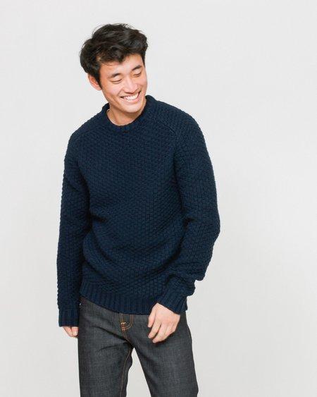 SUIT Cornelius Sweater - Dark Navy