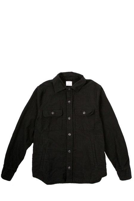 Save khaki United Moleskin CPO jacket - Black