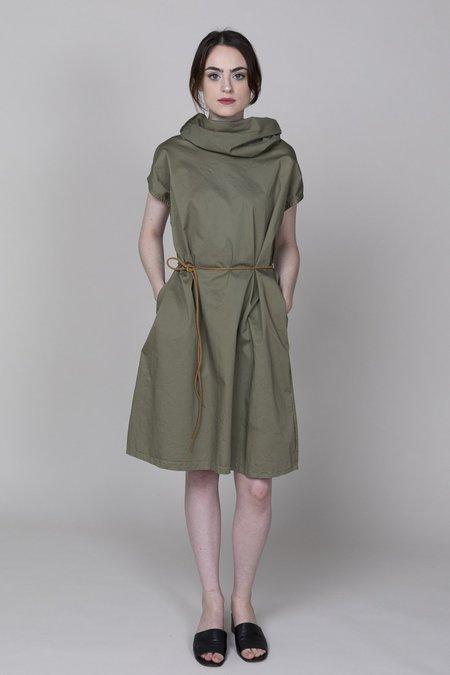 Pip-squeak Chapeau Etc. Muffle Dress - Olive