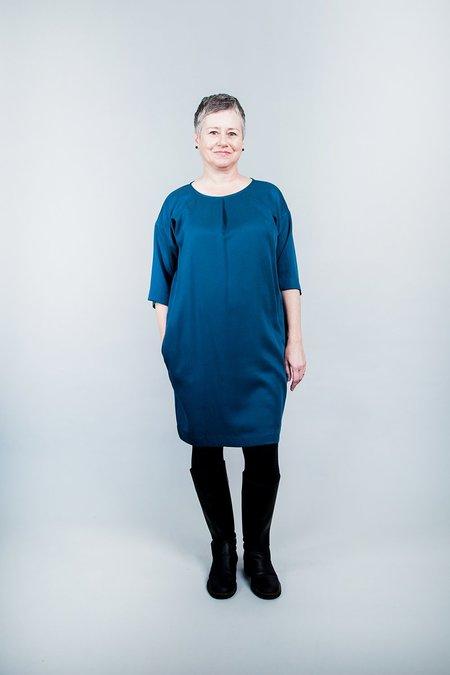 Amanda Moss Tala Dress - Teal