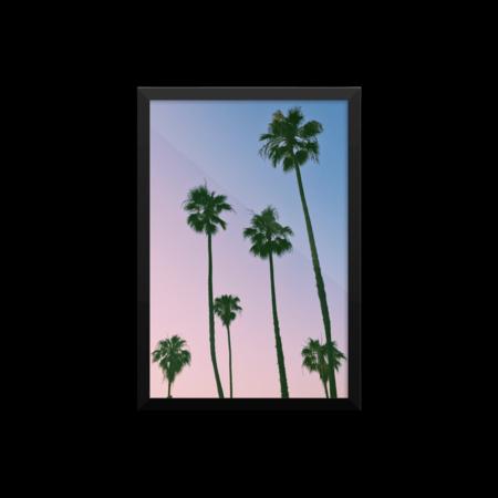 Kuarto Long Beach Palms Print