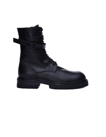 Ann Demeulemeester Leather Boots - Black