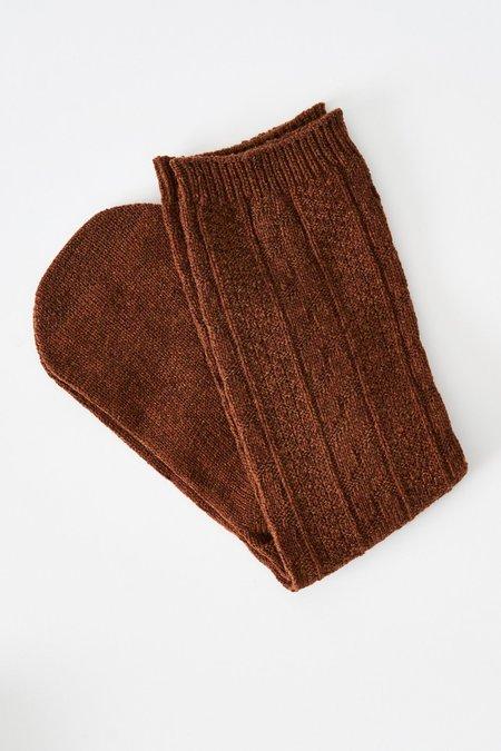 Cosmic Wonder Socks - Brown