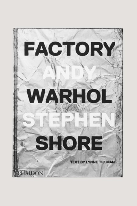 Phaidon Factory Andy Warhol book
