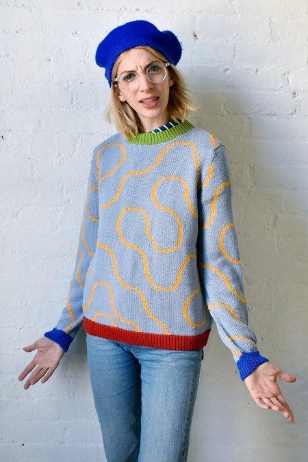 Dusen Dusen Arc Sweater - Lavender